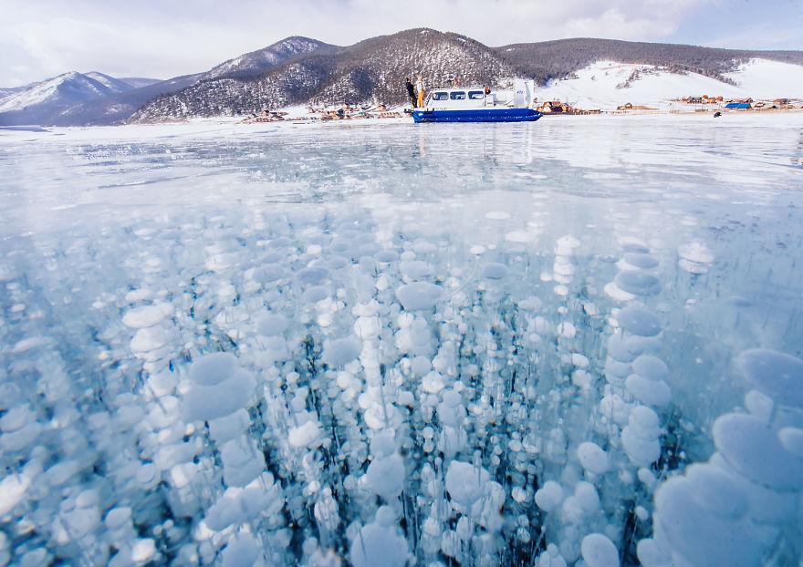 Кога Бајкалско езеро замрзнува  галерија