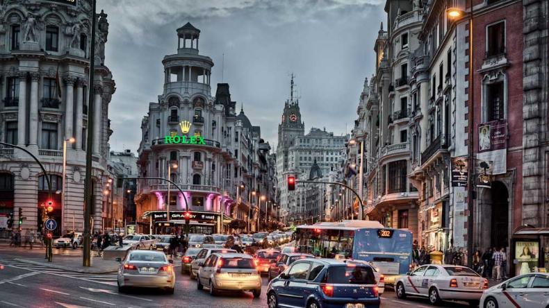 Нема возење со сопствени автомобили во центарот на Мадрид