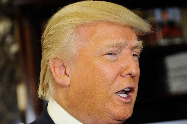 Голема побарувачка за перики со фризурата на Трамп