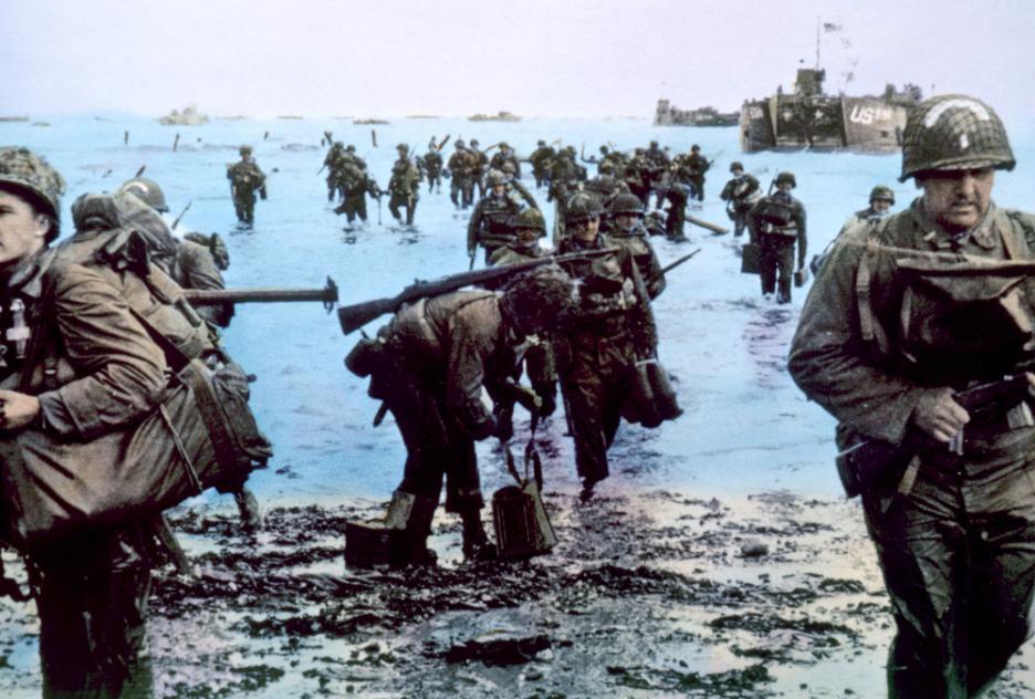 Вистински архивски снимки од  Денот Д  и инвазијата на Нормандија