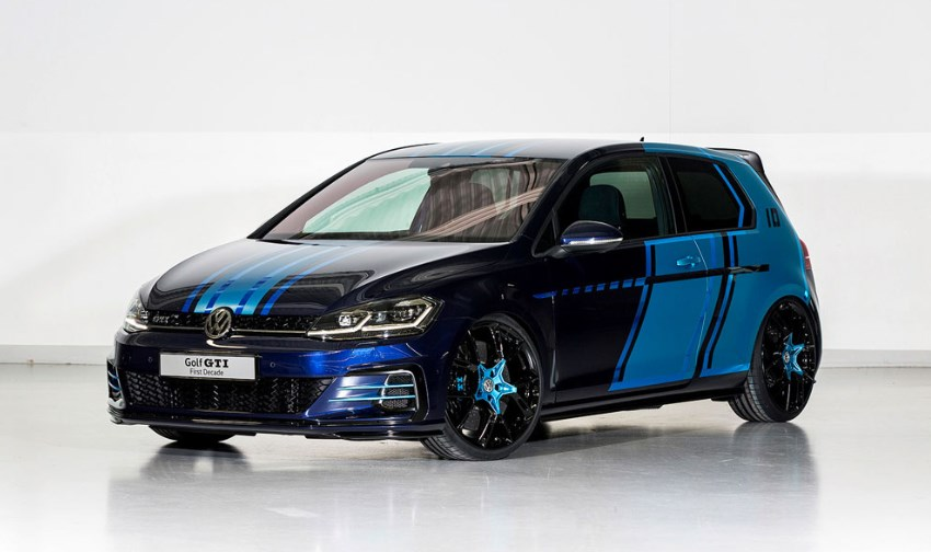 Volkswagen го покажа најмоќниот Golf GTI
