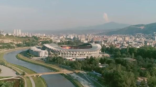 Промотивното видео на Скопје за Суперкупот на УЕФА