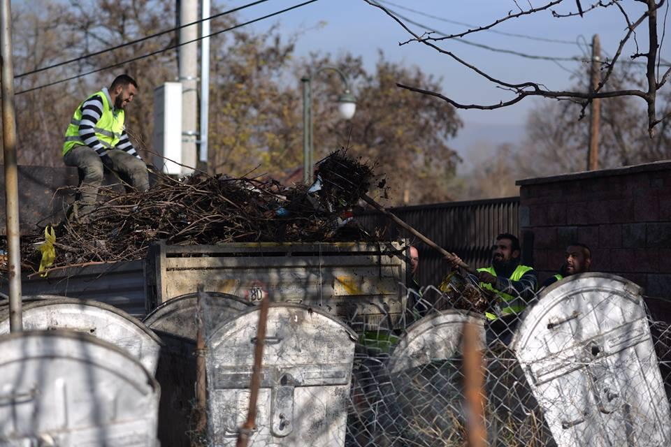 Во Скопје ќе се спроведе акција за чистење на градот