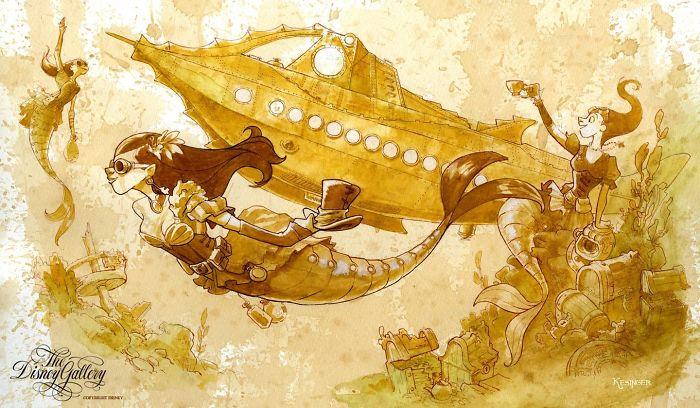 Генијални уметнички дела направени од чај