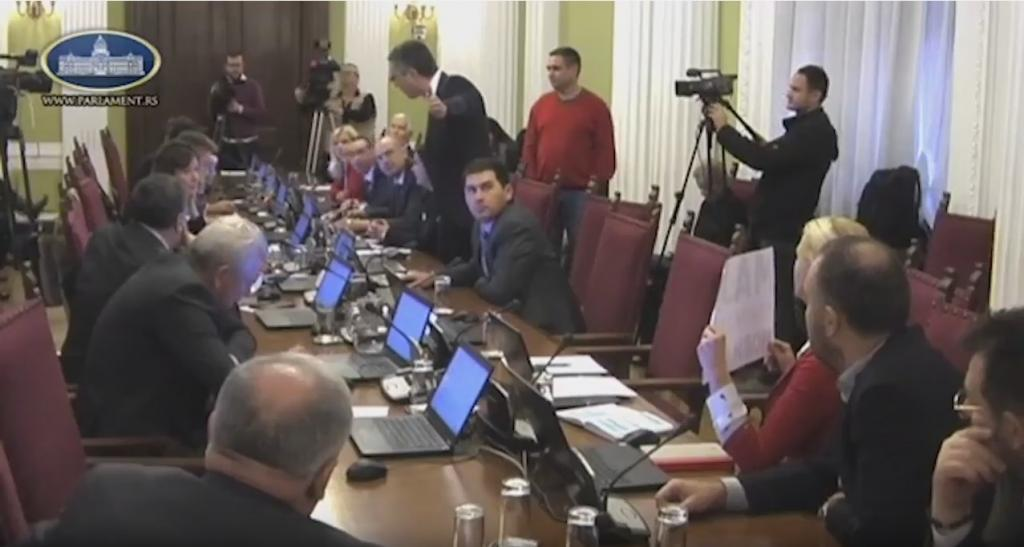 Инцидент во Српското собрание