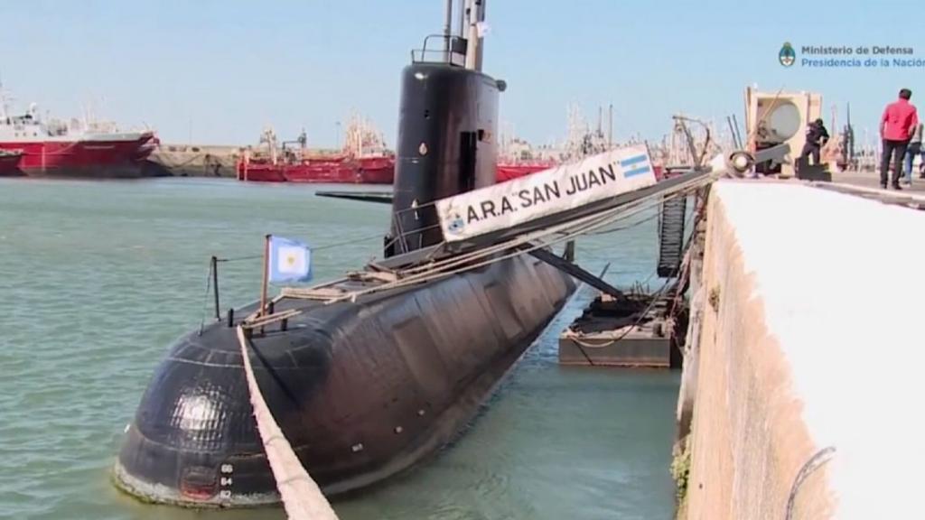 Безуспешно се трага по изчезнатата аргентинска подморница