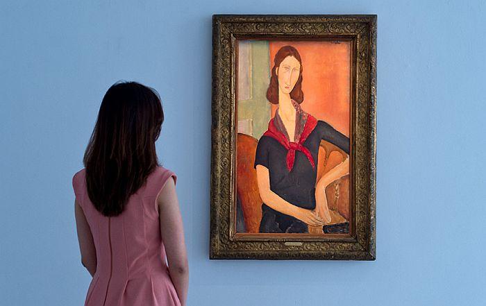 Скоро сите слики на изложба на Модилијани биле фалсификат